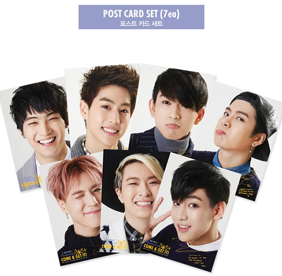 got7 1st postcard