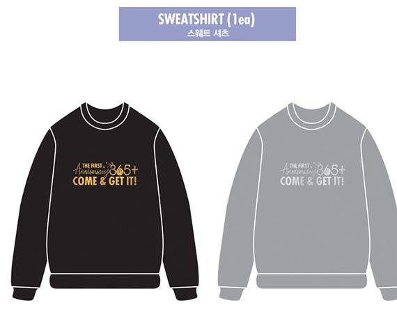 got7 1st sweatshirt