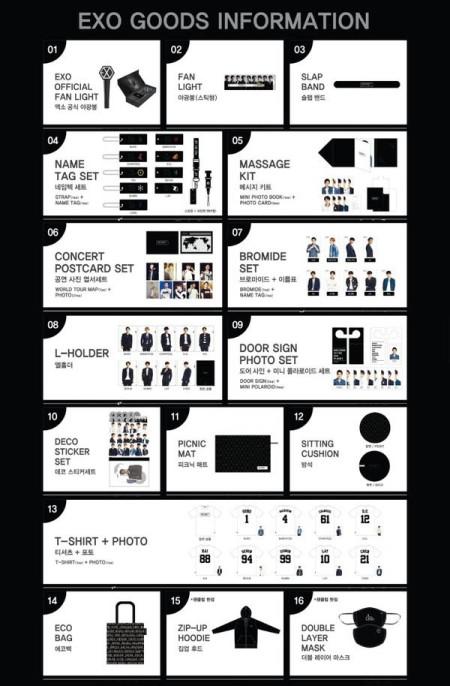 exo concert goods