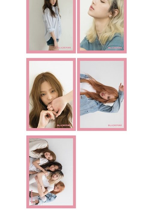 blackpink postcard set 2